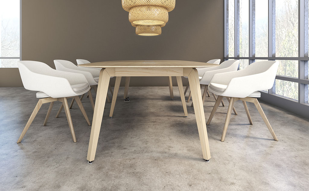 Combine simplicity, solid wood components and customizable design options and you'll have an arlo table from nevins.